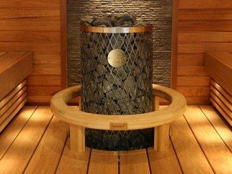 Каменка для бани или сауны