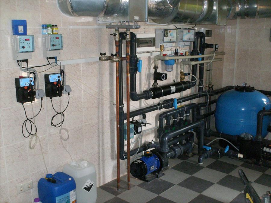 Ещё один пример оборудования для бассейна